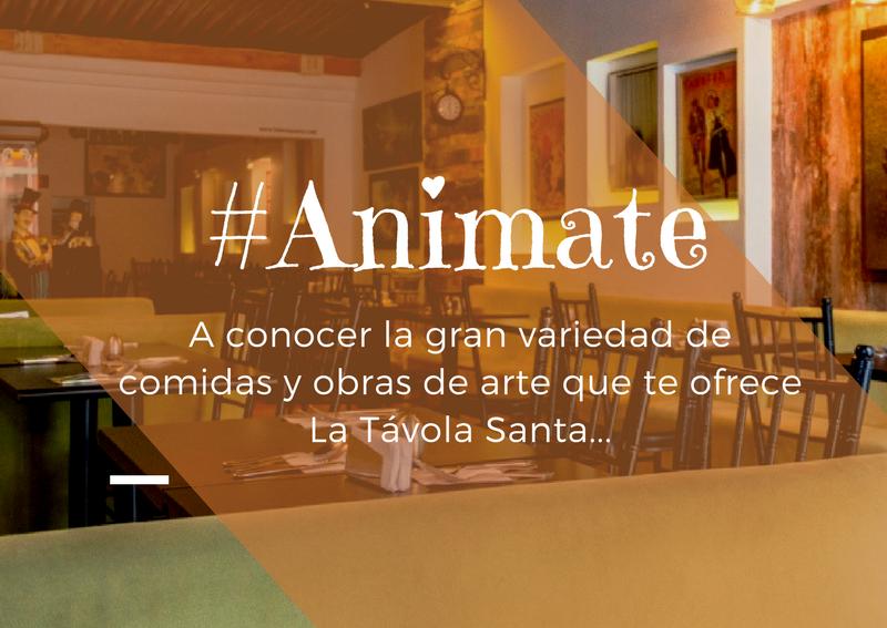 entretenimiento, comida, arte, galería, Bogotá, Colombia, La Távola Santa