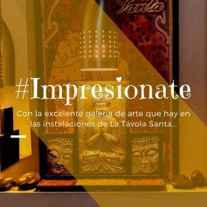 galería, arte, impresión, entreteer, Bogotá, Colombia, La Távola Santa